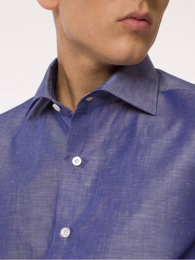 Four Season - cotton & linen shirt