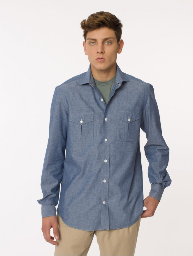 Oxford cotton workwear shirt