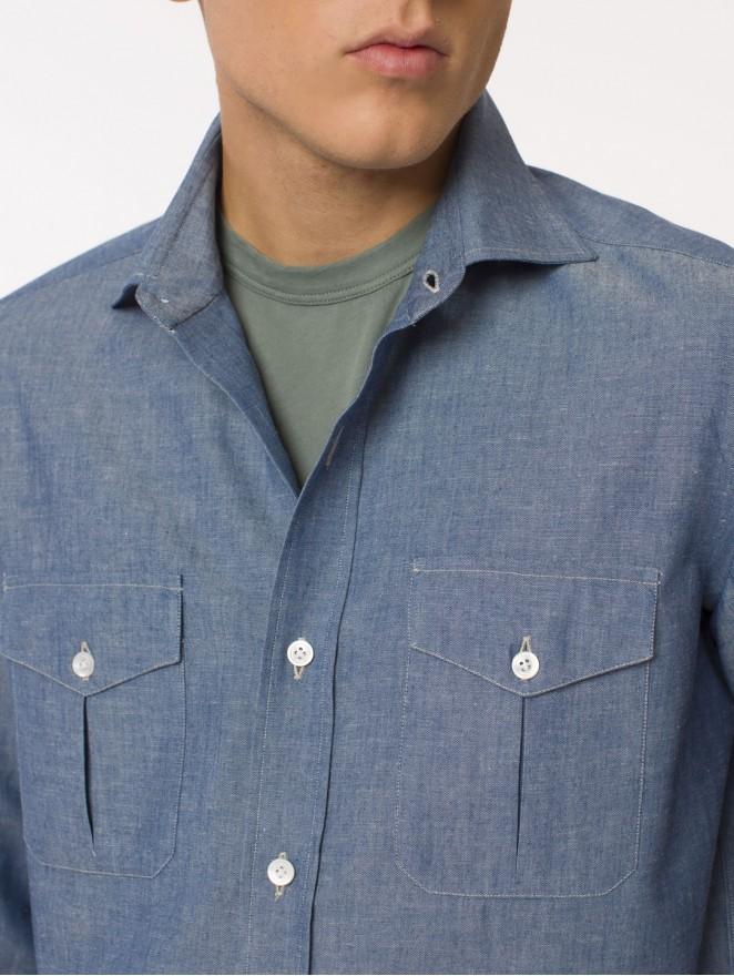 Oxford cotton workwear shirt