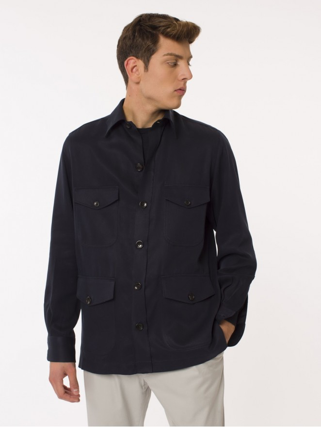 Tencel Saharian shirt/jacket
