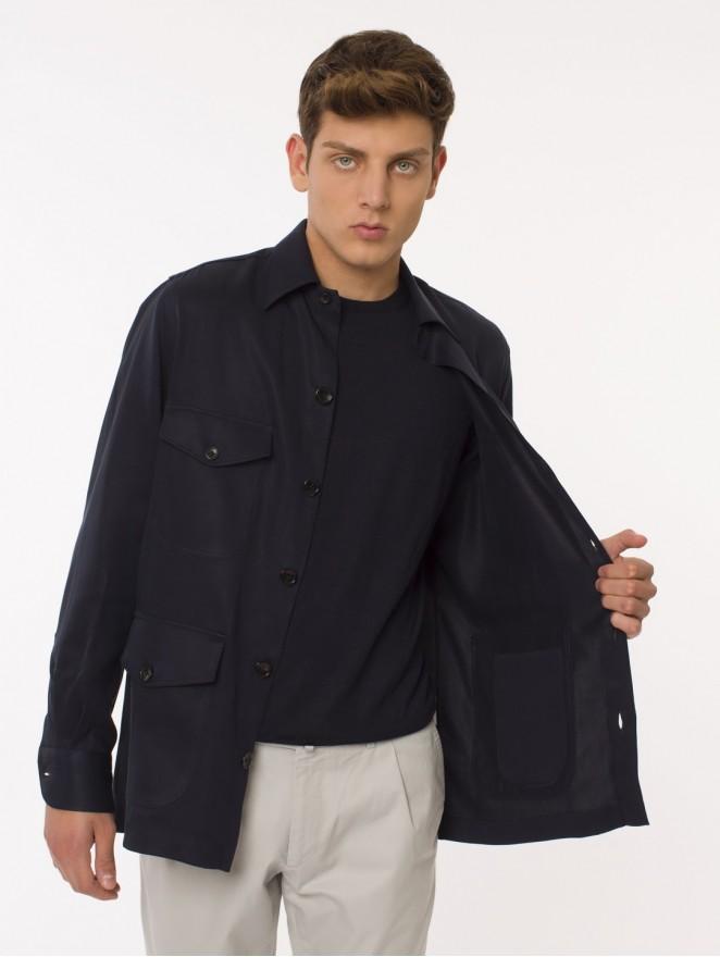 Tencel Saharian shirt/jacket