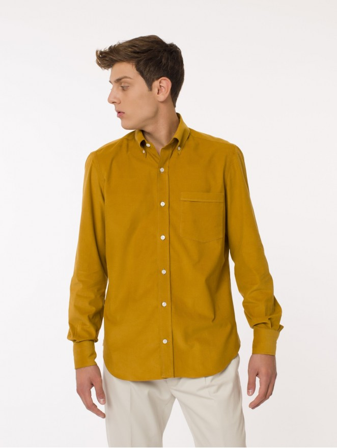Saturday - needlecord shirt