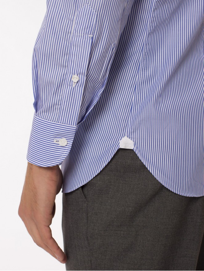 Wednesday - Camicia in cotone 120/2