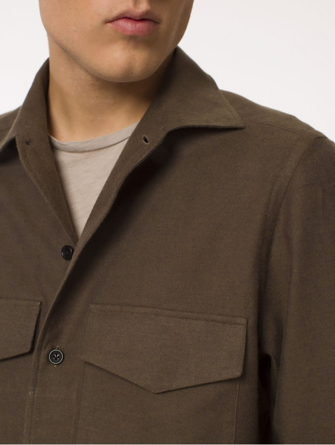 Cotton & Wool overshirt